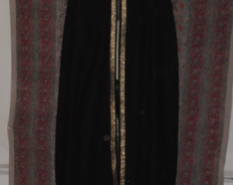 Custom cloaks in your fabric and trim.