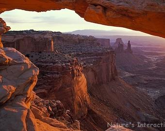 Set of quantity 5: Mesa Arch at Sunrise Photo Card