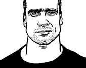 Henry Rollins Print...