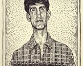 Eric Roberts Mugshot Print