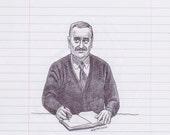 Mr. Belvedere Print