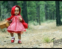 Little Red Riding Hood Tutu Costume
