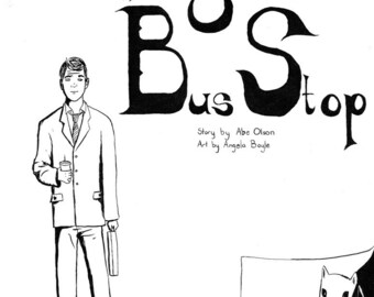 Harrowing Tales at the Bus Stop (comic book)