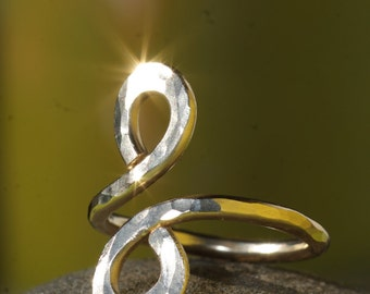 Hand Crafted Gold Infinity Ring