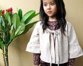 PDF Pattern - Dolly Jacket for 4 - 10 years old and tutorial.