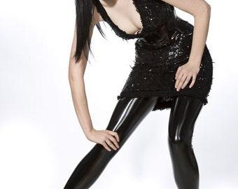 Pvc leggings S Black Artifice Clothing (production sample)