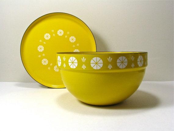 Cathrineholm Enamelware Bowl and Plate Grete Prytz Kittelson