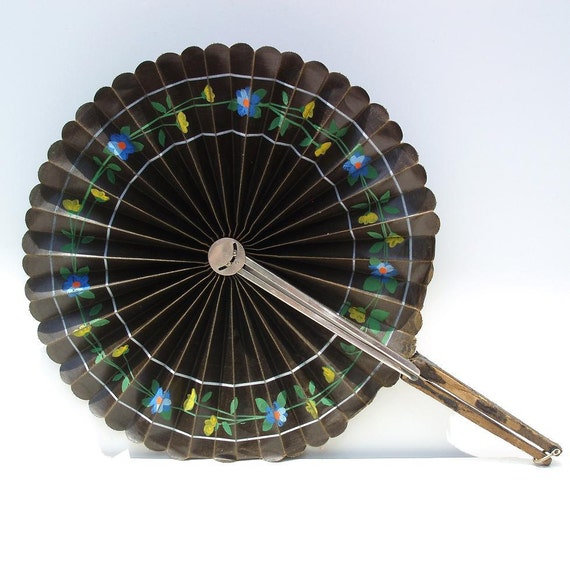 antique hand fans victorian accessories cockade by whimzythyme