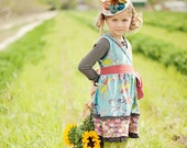 Harvest Blossom Mini Top Hat - mini top hat - made for Matilda Jane Clothing