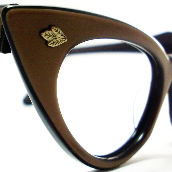 Vintage 50s Cat Eye Glasses Eyeglasses Sunglasses Glasses