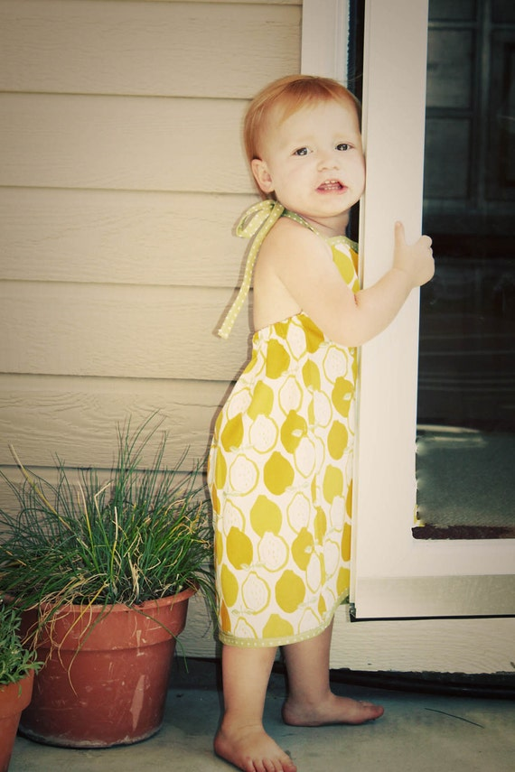 INSTANT DOWNLOAD Tess Halter Dress & Top - 2 PDF Patterns in One By Hadley Grace Designs - Includes Sizes 12 mo - 6