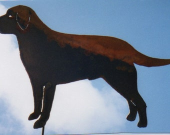 Labrador Dog Yard Art by Rustiques Garden Art
