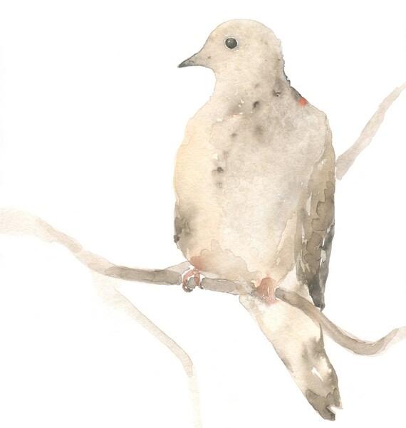Bird Painting - Dove