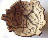 Circuit Boards, Ceramic Art Bowl