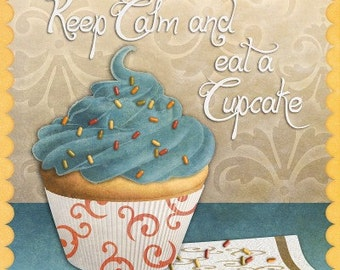 Cupcake I - Cross stitch pattern pdf format