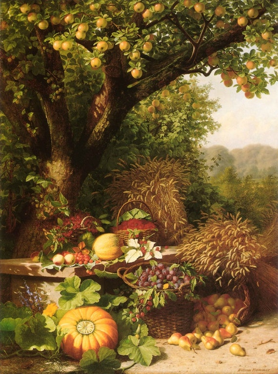 Fruits of the Garden and Field - Cross stitch pattern pdf format