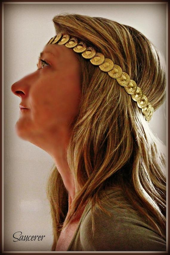 """Headband Headdress - """"Saucerer"""""""