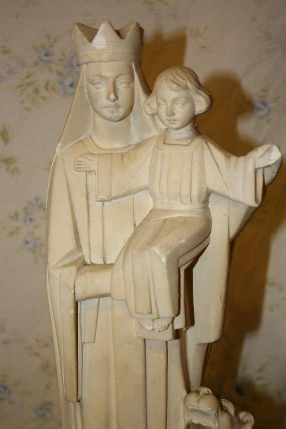 Sale Historical European Madonna and Child Statue