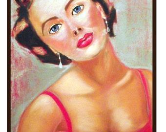 Fame and Beauty Original Portrait