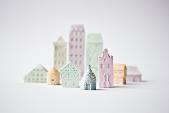 Clay Architecture Set
