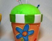 Pin Cushion - Flower Pot