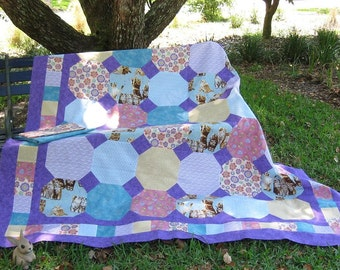 Twin or Double Bed Quilt