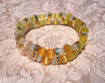 Beautiful Dawn Bracelet in Sunrise Colors