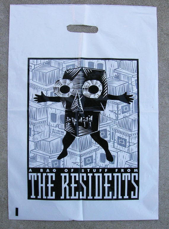The Residents eyeball band Official 'Plastic Tote