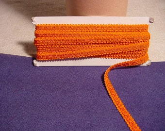 Orange Braid Trim of Excellent Cotton Band - Braid - Tape - Lace - Trick or Treat for Halloween Costume