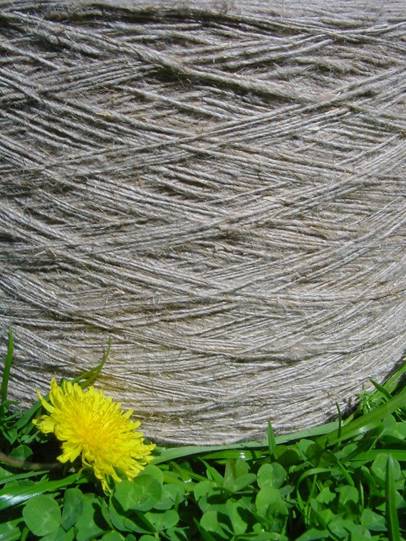 Natural Color Thread 1 mm diameter - 25 Yards - Twisted Twine - Yarn, Tie, Strap, Band, Rope