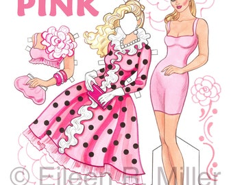 Pink Paper Doll