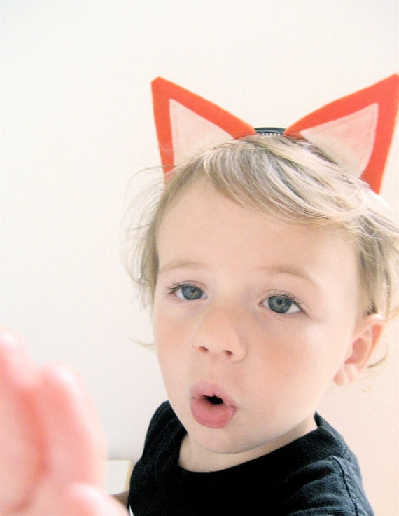 Fox Ears Headband, Halloween Costume, Dress Up Fox Ears for all ages