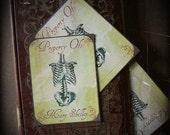 SALE - Morte Eternal - Stickers or Bookplates