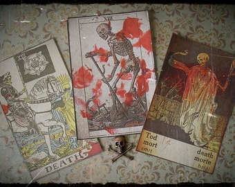 Through the Ages - Death Tarot Stickers