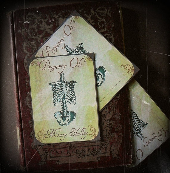 SALE - Morte Eternal - Stickers or Bookplates