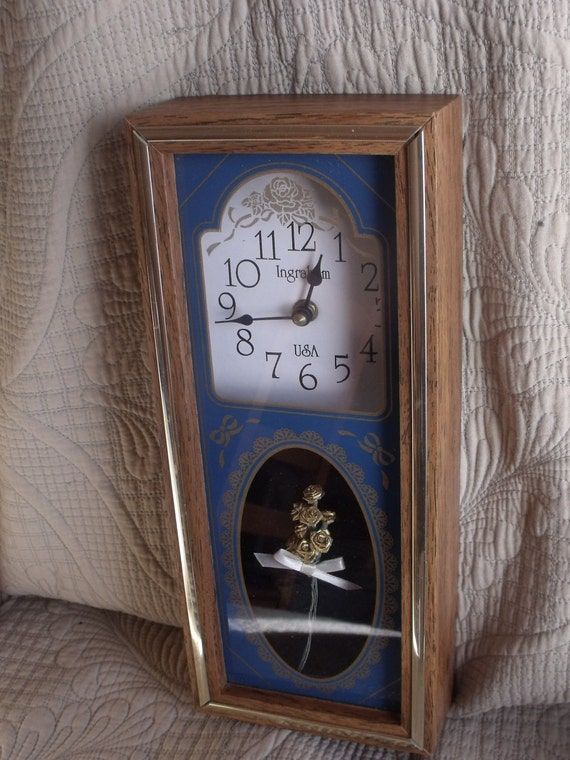 Sale Wall Clock Ingraham Battery Operatedworking