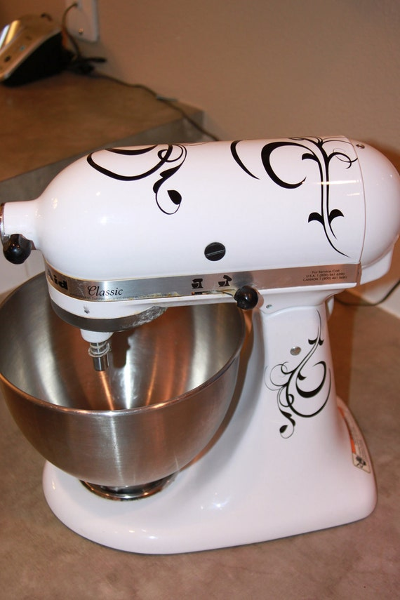 Vinyl Decals for your kitchenaid stand mixer