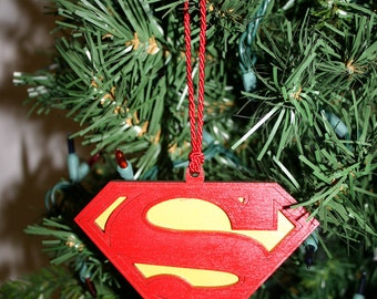 Superman ornament | Etsy