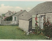 Sconset Roofs, Nantucket postcard. Gardiner, PHOSTINT