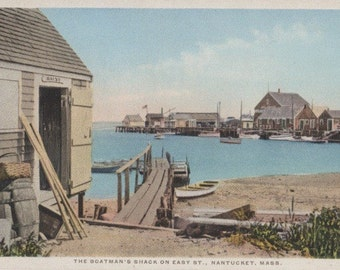 The Boatman s Shack, Nantucket postcard. Gardiner, PHOSTINT