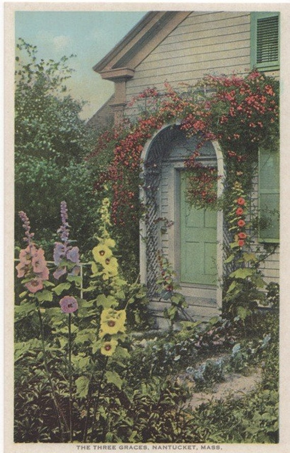 The Three Graces, Nantucket postcard. Gardiner PHOSTINT