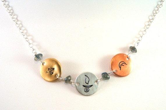 Special Symbols UU Chalice Necklace