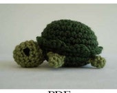 Little Turtle Crochet Pattern