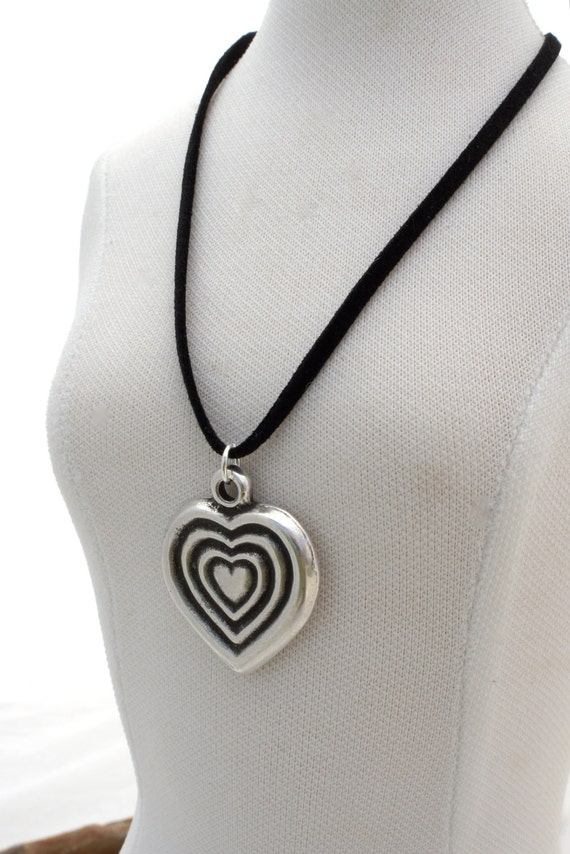 Free Shipping Jewelry, SILVER VALENTINE NECKLACE by Cheydrea