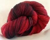 REDSHIRT hand painted superwash merino sock yarn