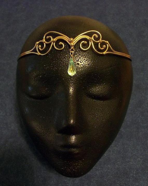 Bronze & Crystal Circlet