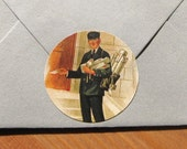 Postman stickers, set of 8