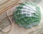 SHELL Soap on a Rope - More Colors Available - Handmade With Essential Oils - Nautical Beach Tropical Island Soap