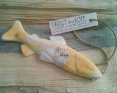 Fish Wedding Favors - Trout Soap on a Rope - Fall Weddings - Pick Your Scent - Wedding, Party, Graduation Favors