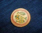 Christian Fish Jesus Symbol - christian ichthus - Sign of the Fish Ichthys Symbol - Fishing, Kitchen Magnets - refrigerator magnets